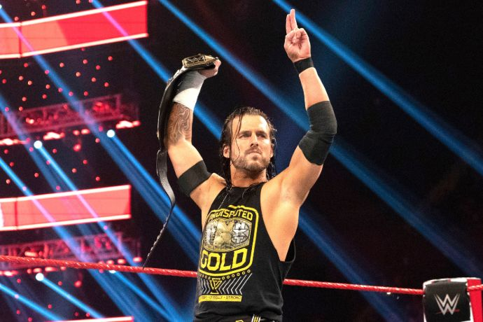 Wrestler Adam Cole