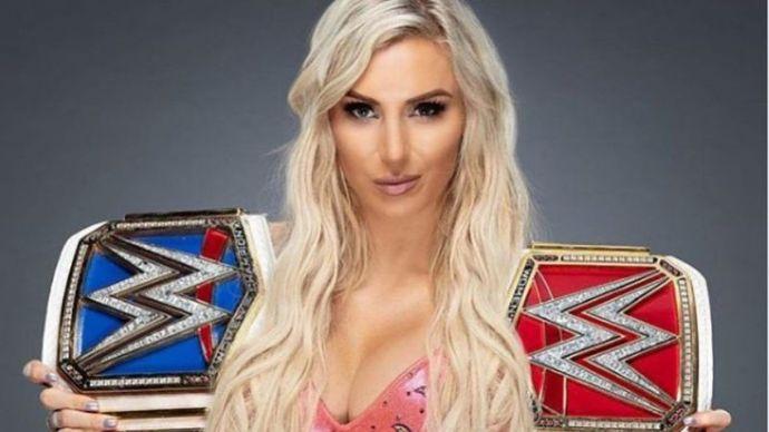 Charlotte flair title