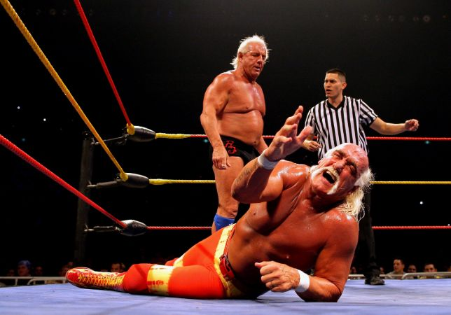 Ric Flair Fighting