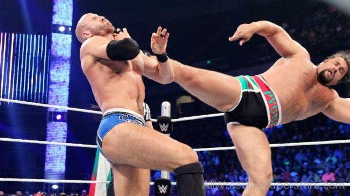 Kicking opponent