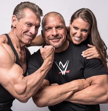 Vince McMahon daughter and Triple H