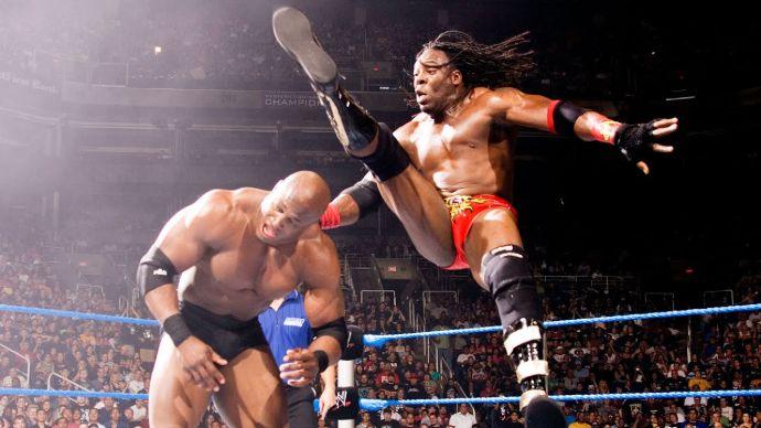 Booker T Hammer Kick