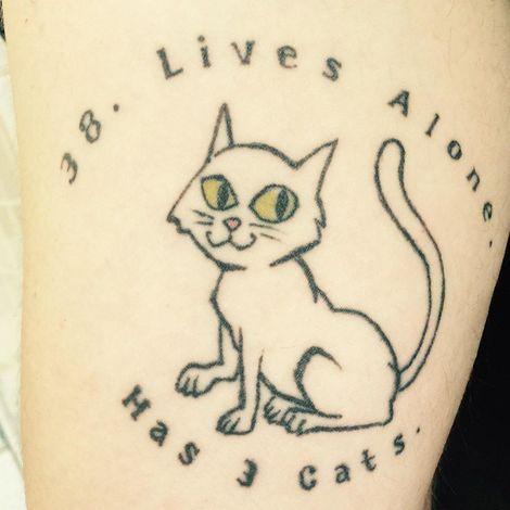 Q's tattoo