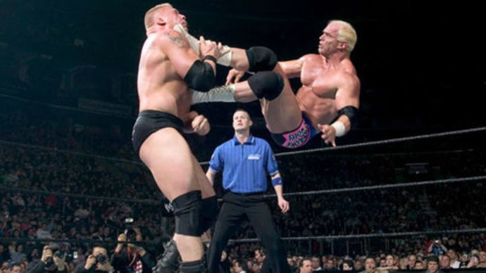 Hardcore vs Brock