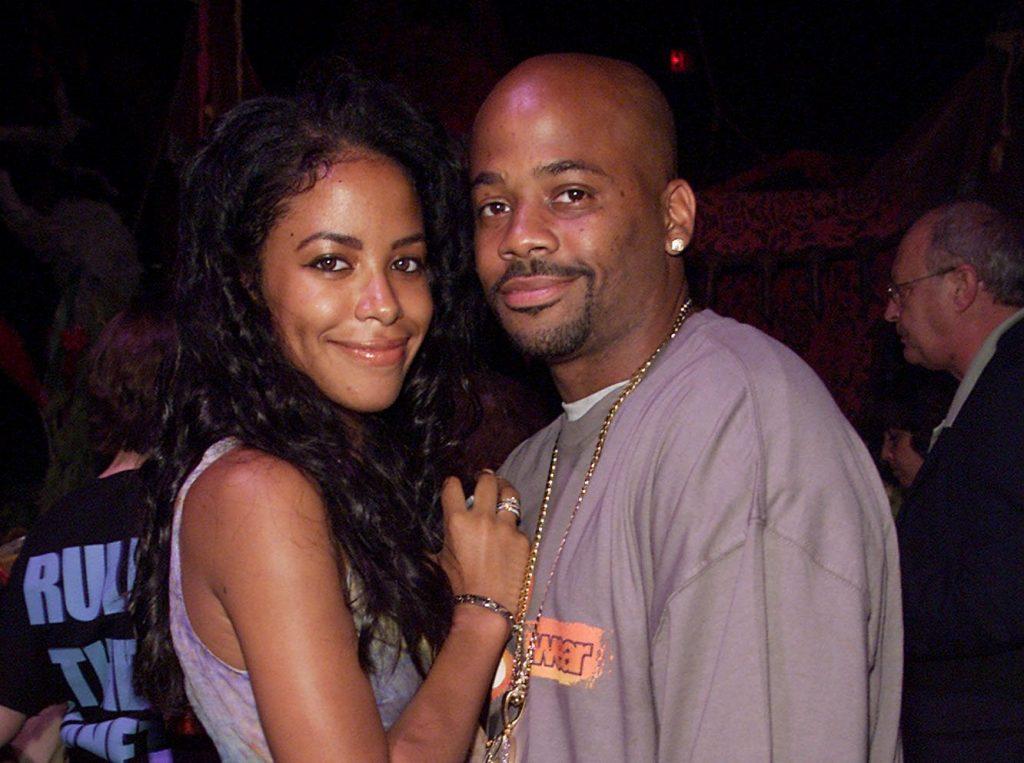 Damon Dash and Aaliyah