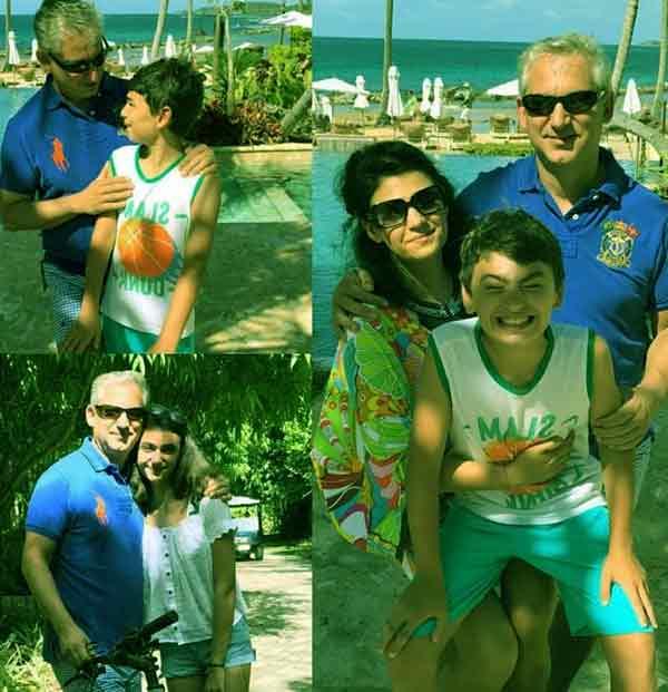 Dr David Samadi and his Family
