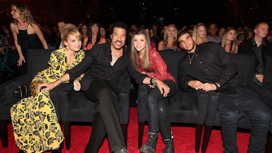 Lionel Richie With his Kids