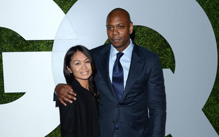 Dave Chappelle and wife, Erfe Elaine Mendoza