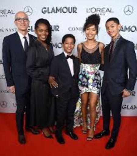 Yara Shahidi family