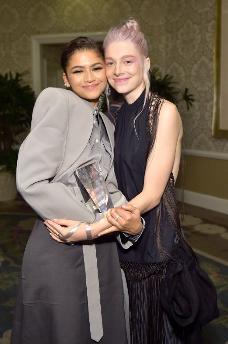 Are Hunter Schafer and Zendaya friend?