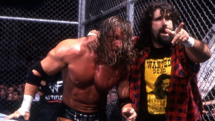 Feud with Triple H